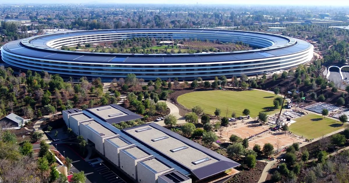 Apple employees reveal behind-the-scenes images of the firm's new HQ