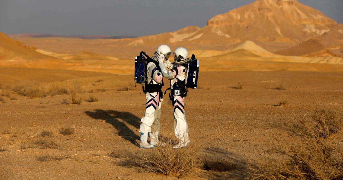Scientists practice living on Mars – but they've been camped much closer to home