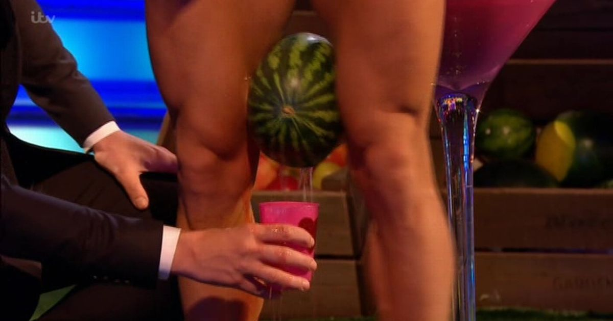 Take Me Out fans cringe as contestant strips and crushes fruit with his thighs