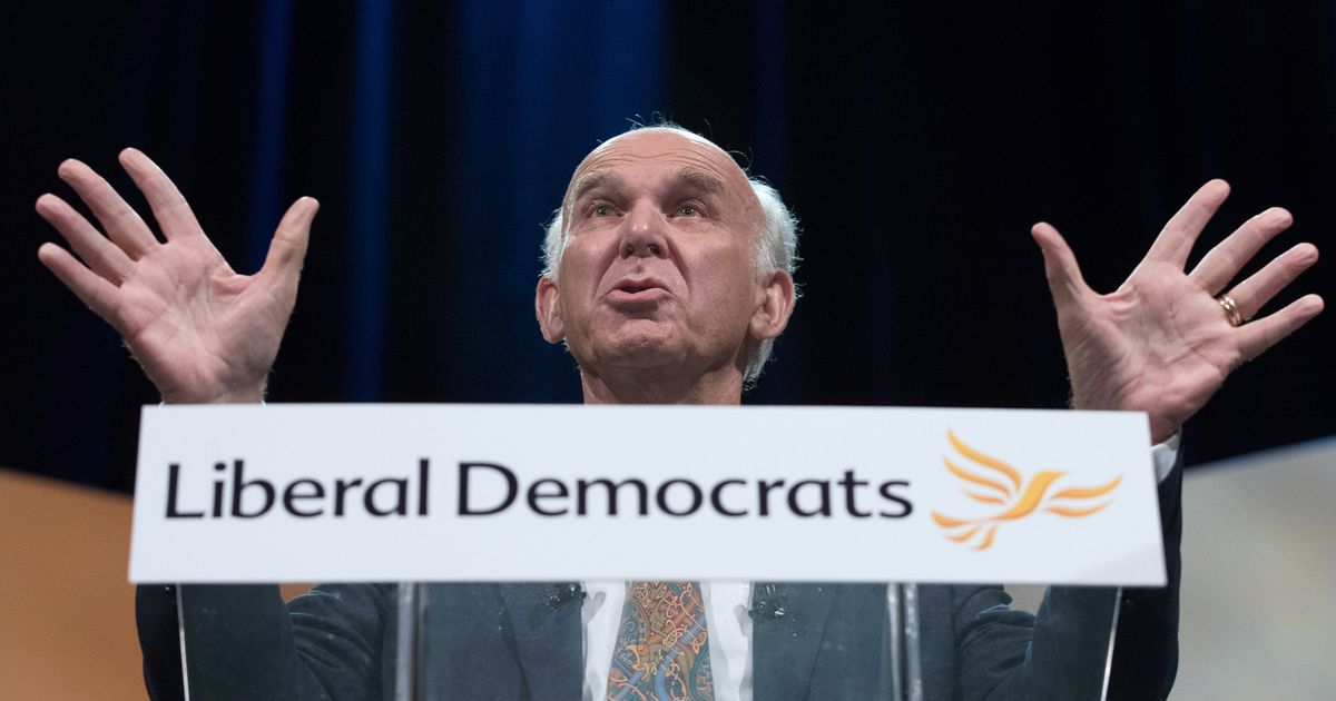Vince Cable reveals he is not, in fact, Jesus Christ