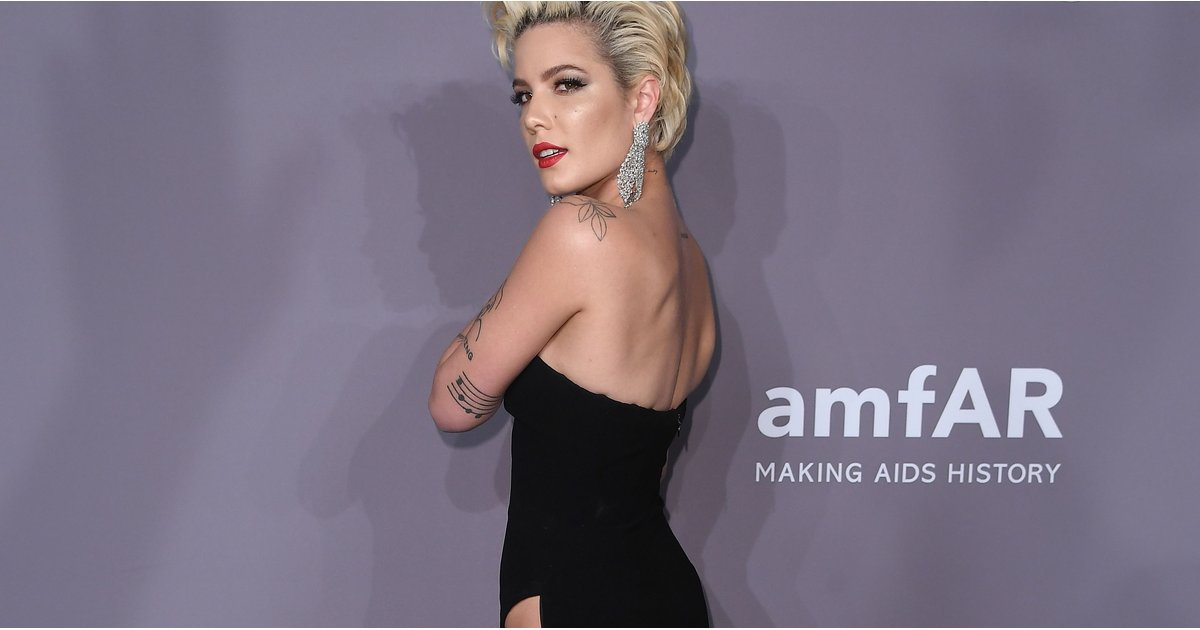 Halsey Wore the Highest Slit at 1 of the Biggest Fashion Parties of the Year — Would You Dare?