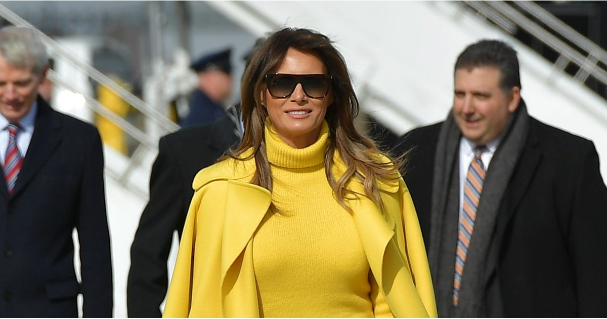 5 Runway Looks We Could See Going Straight Into Melania Trump's Closet