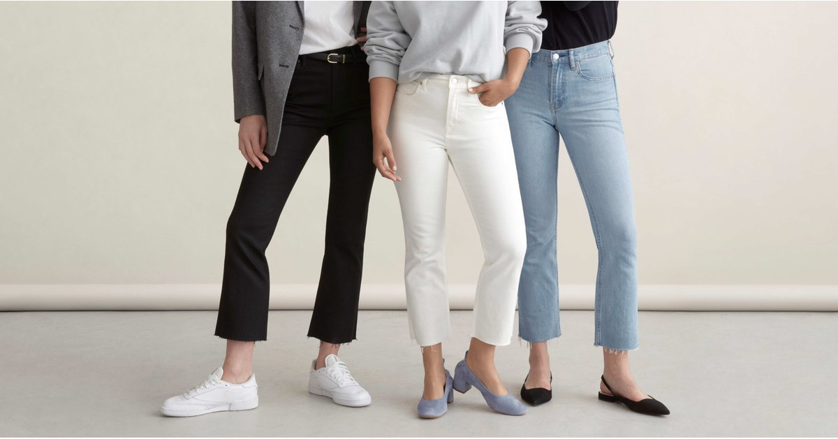 Denim-Lovers, Everlane Released New $78 Jeans — You'll Be Wearing Them All Spring