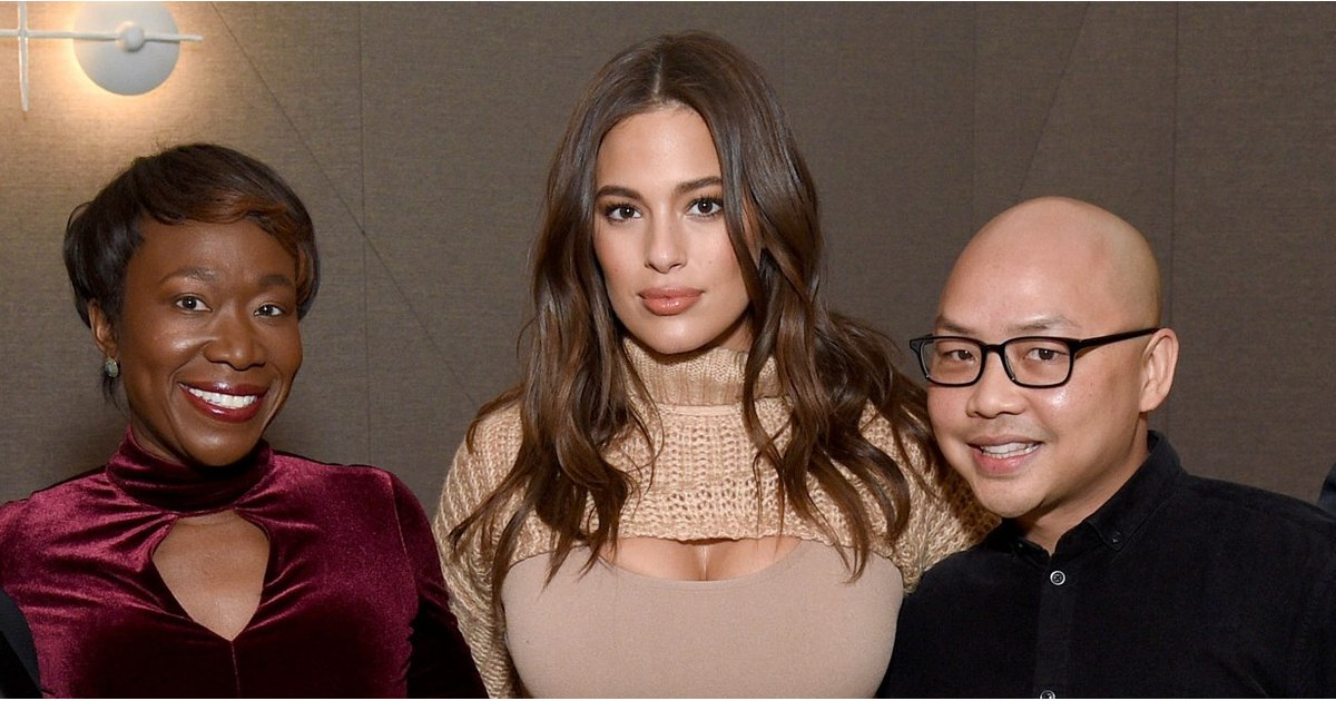 "Ashley Graham Cut Her Winter Sweater in Half to Reveal the ""Girls,"" and We Love That So Much"