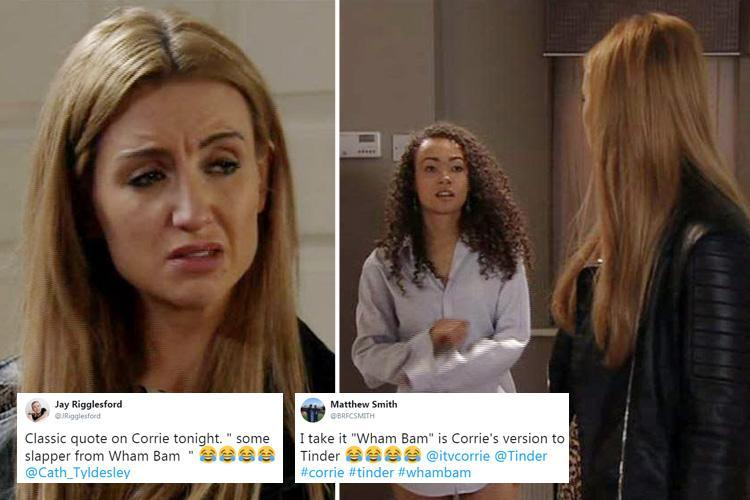 Coronation Street viewers in hysterics as Weatherfield's dating app WhamBam is revealed