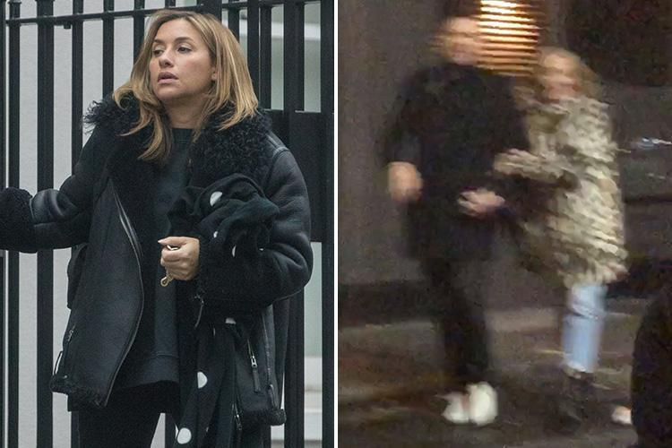 Nicole Appleton's All Saints pal Melanie Blatt is seen leaving her home as it's revealed she's now unfollowed Paddy McGuinness on social media after night out together
