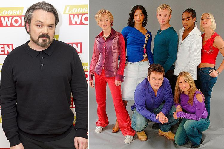 S Club 7's Paul Cattermole leaves his new shirt at Loose Women over fears they'd think he stole it