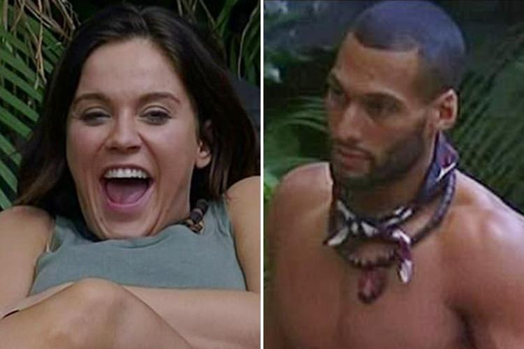 Engaged Vicky Pattinson admits to a huge crush on Aussie footballer campmate Josh Gibson in I'm A Celebrity