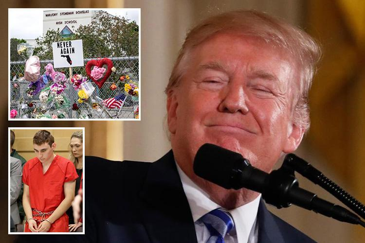 Donald Trump pushes for 'bump stocks' ban after school massacre – but Florida lawmakers vote AGAINST assault rifle ban motion