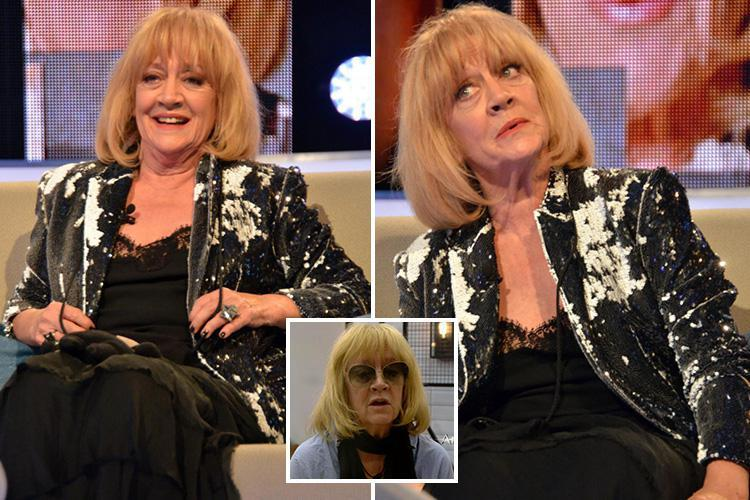 Celebrity Big Brother's Amanda Barrie struck a special deal with producers to 'ban them from showing her without her wig on'