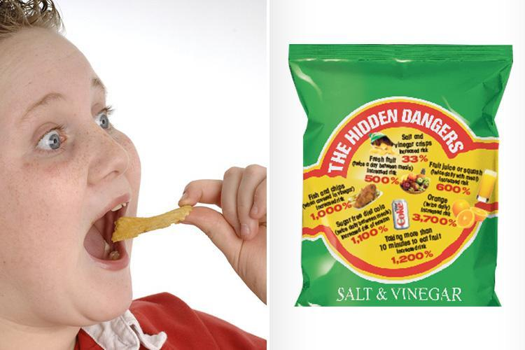 Salt and vinegar crisps are rotting Brits' teeth — as acidic food and drink toll is revealed
