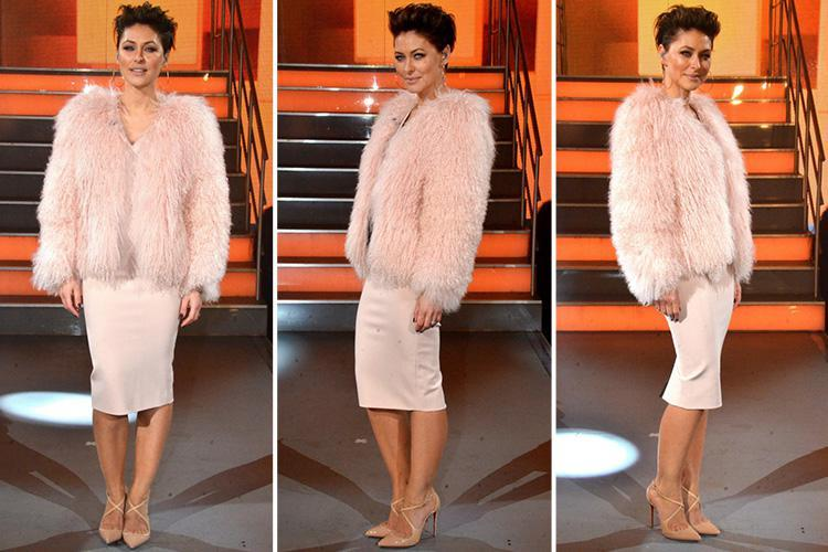Celebrity Big Brother fans compare Emma Willis to 'walking candy floss' as she wears £450 jacket for the final eviction