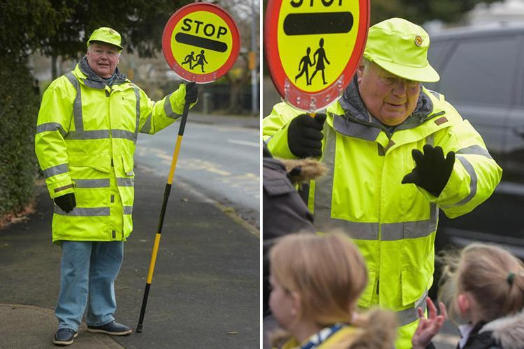 Lollipop man Bryan Broom quits 'after council told him high-fiving kids could be seen as GROOMING'