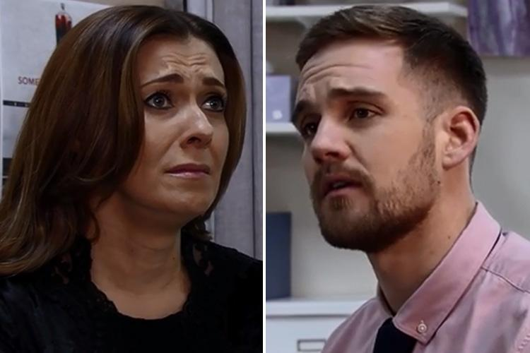 Coronation Street spoilers: Michelle Connor breaks down as she comes face to face with her estranged son Ali Neeson after he secretly moves to Weatherfield