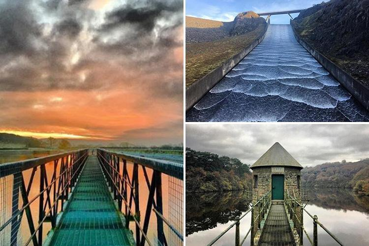 Water worker makes splash with these incredible images of dams across the UK