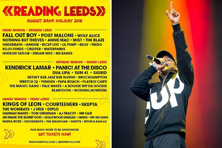 Reading Festival fans moan after paying £220 for rock event… only to find line-up is full of grime artists