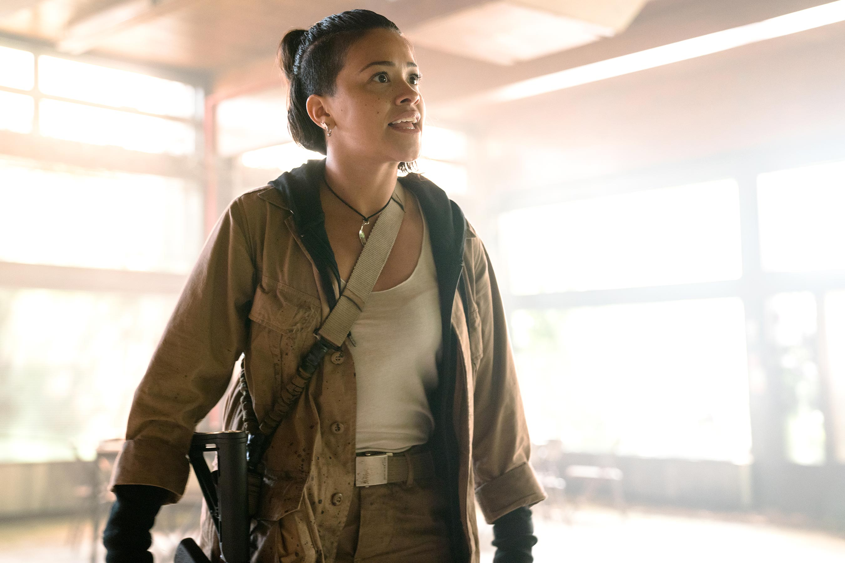 How Gina Rodriguez transformed herself for Annihilation