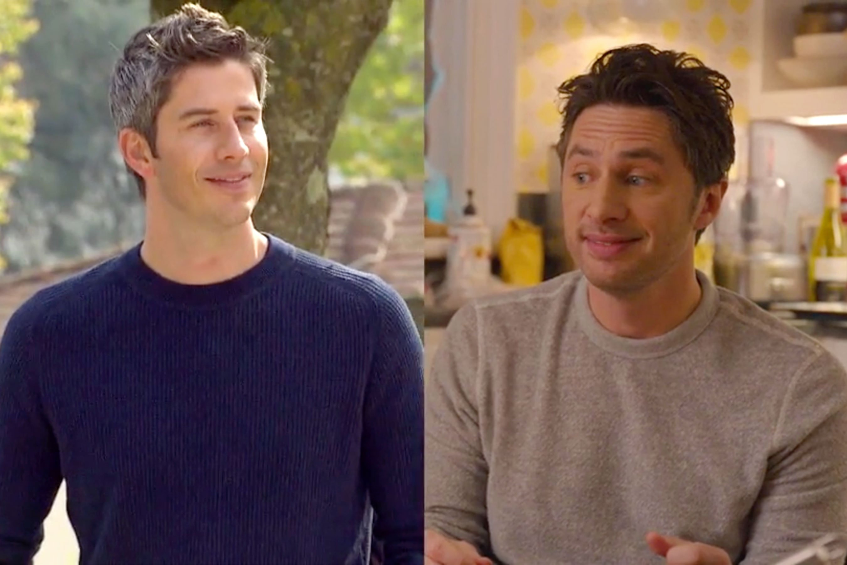 Bachelor look-a-likes! Zach Braff and James Marsden are Bachelor Nation material