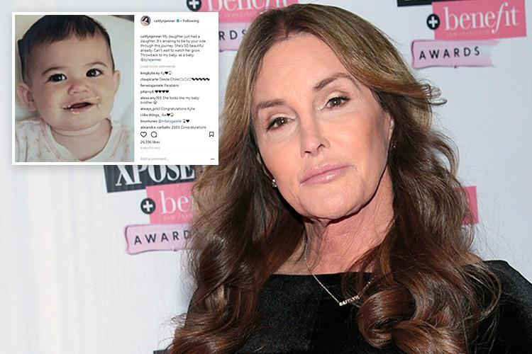 Caitlyn Jenner breaks silence to congratulate daughter Kylie on giving birth and hints she's been there all along