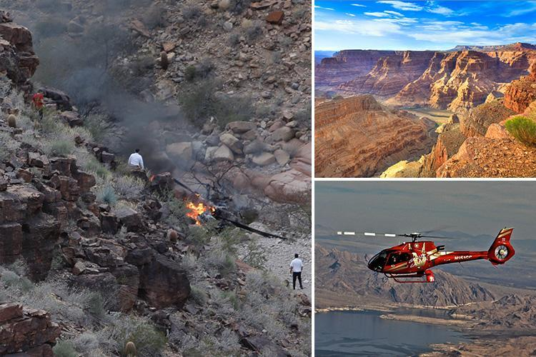 Three tourists killed in Grand Canyon helicopter crash were British