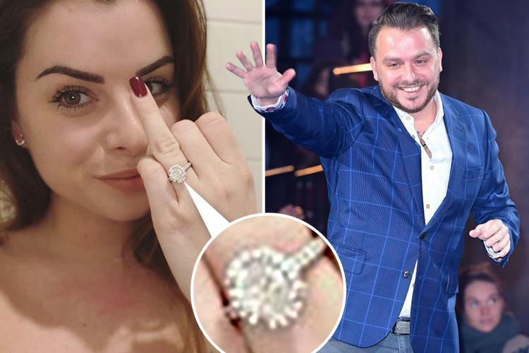 Celebrity Big Brother's Daniel O'Reilly finally buys fiancée Shelley Rae ENORMOUS diamond engagement ring