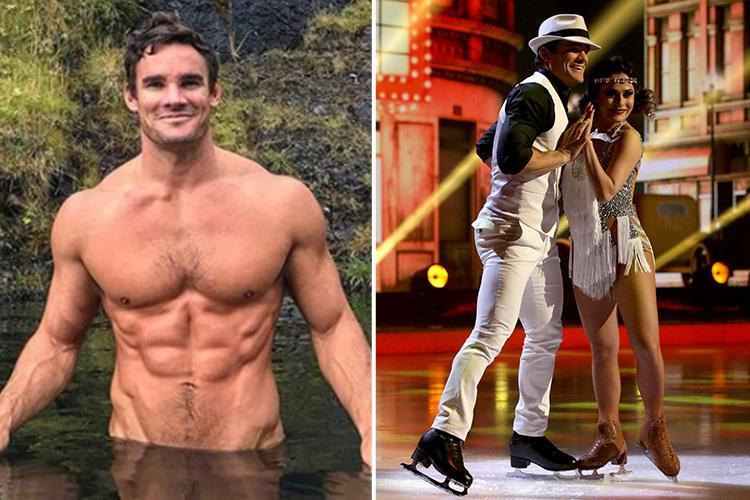 Dancing on Ice's Max Evans is determined to 'get his guns out' to sex up his routines