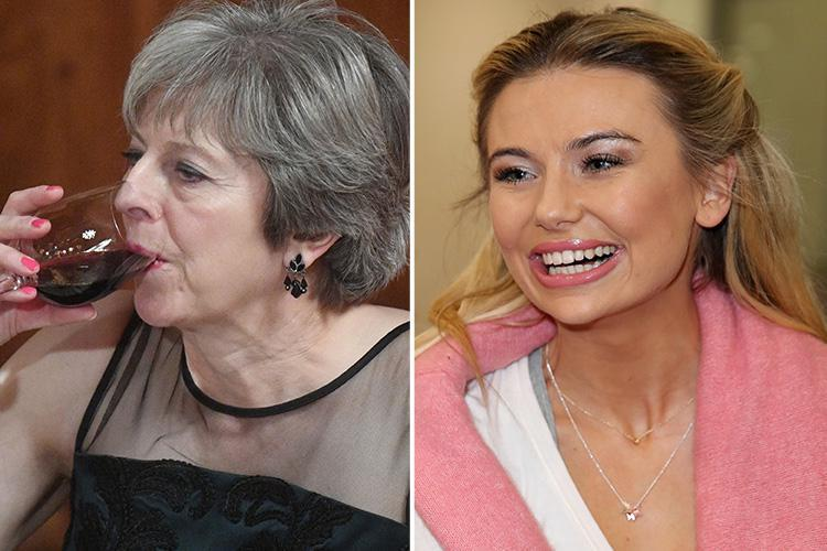 Jungle queen and Tory cheerleader Georgia 'Toff' Toffolo to meet Theresa May at elite fundraising party