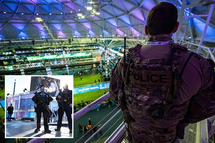 Super Bowl security at an all-time high over fears of ISIS drone attack on US Bank Stadium in Minneapolis