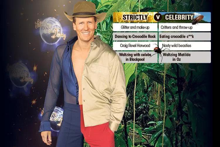 Axed Strictly star Brendan Cole being lined up for I'm A Celebrity