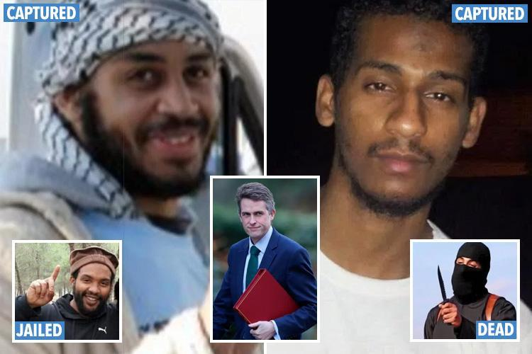 ISIS 'Beatles' shouldn't be brought back to face trial says Defence Secretary