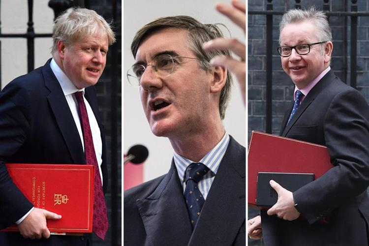 Brexiteers 'line up Boris Johnson, Michael Gove and Jacob Rees-Mogg as dream team to replace May'