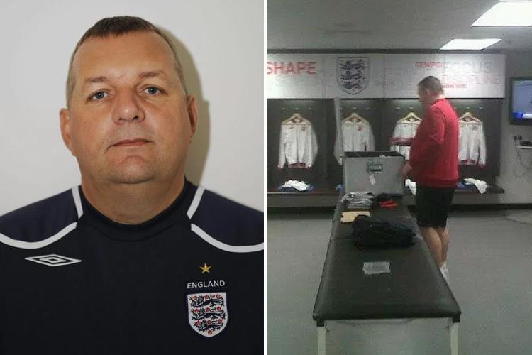 England kit man suspended over 'attack' as aide hit with sex pest claims