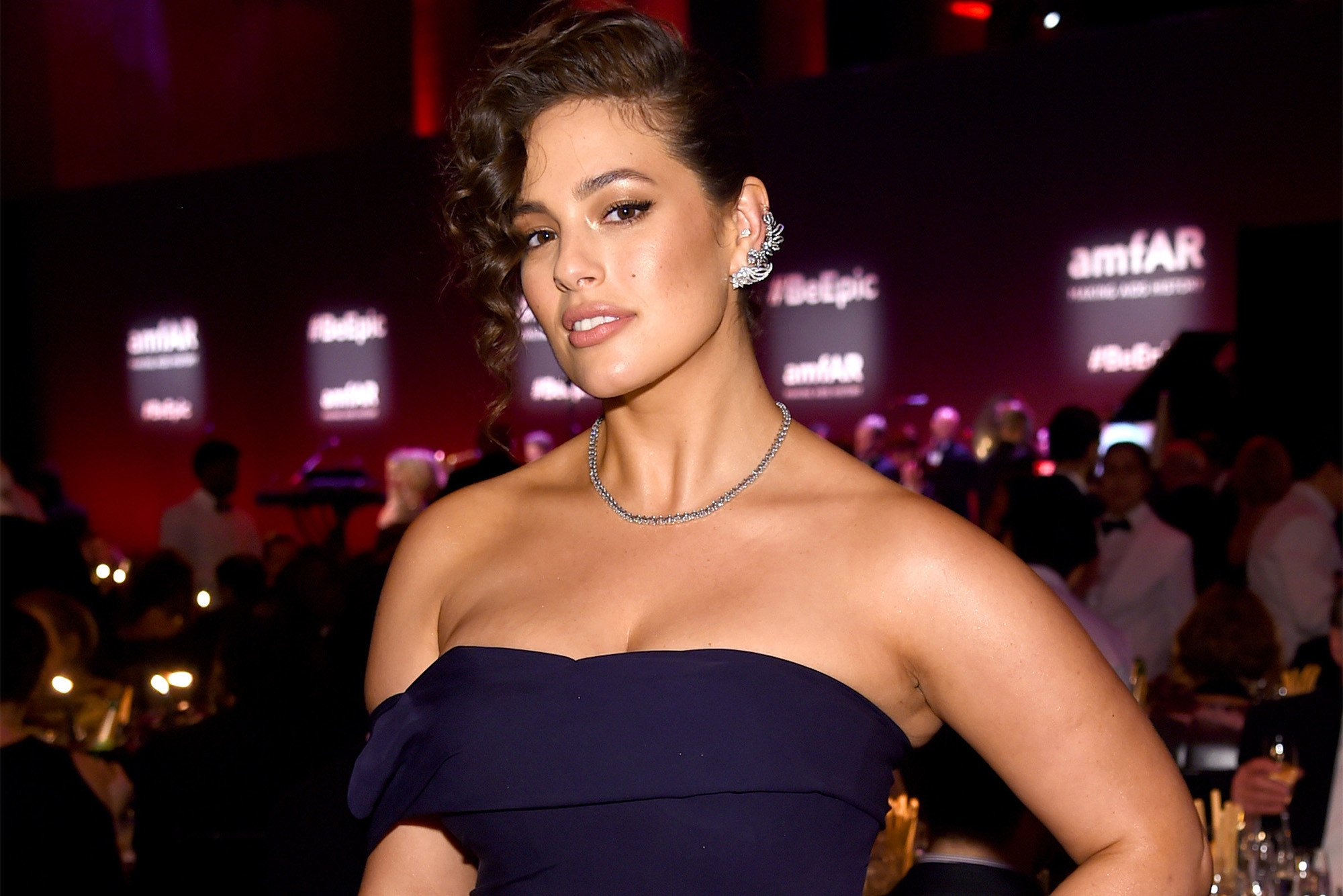 Why model Ashley Graham loves to walk around naked
