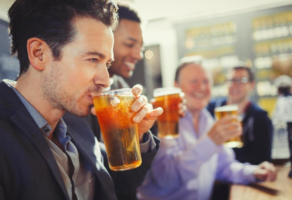 Drinking two pints of beer a day 'cuts Alzheimer's risk… but six can cause it'