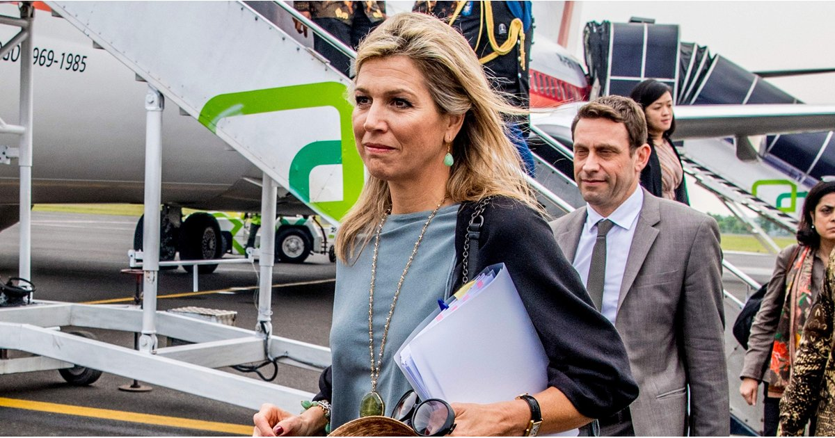 Queen Máxima's Casual Look Includes 1 Trend We Can't Get Enough Of