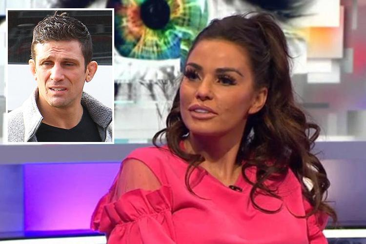 Katie Price denies showing sex tape of ex Alex Reid to TV audience after he reports her to police for revenge porn