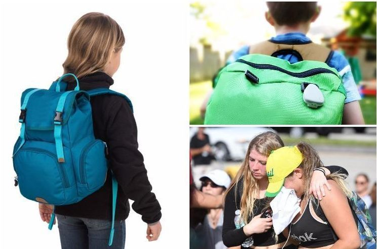 Parents buy their kids bulletproof backpacks and GPS tracking devices in case of another school shooting