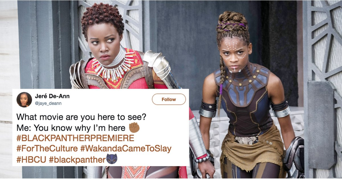 Women of Color Are Busting Out Some Jaw-Droppingly Gorgeous Outfits to See Black Panther