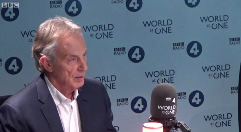 Arch-Remainer Tony Blair STILL won't drop his plans for another referendum to try and reverse Brexit