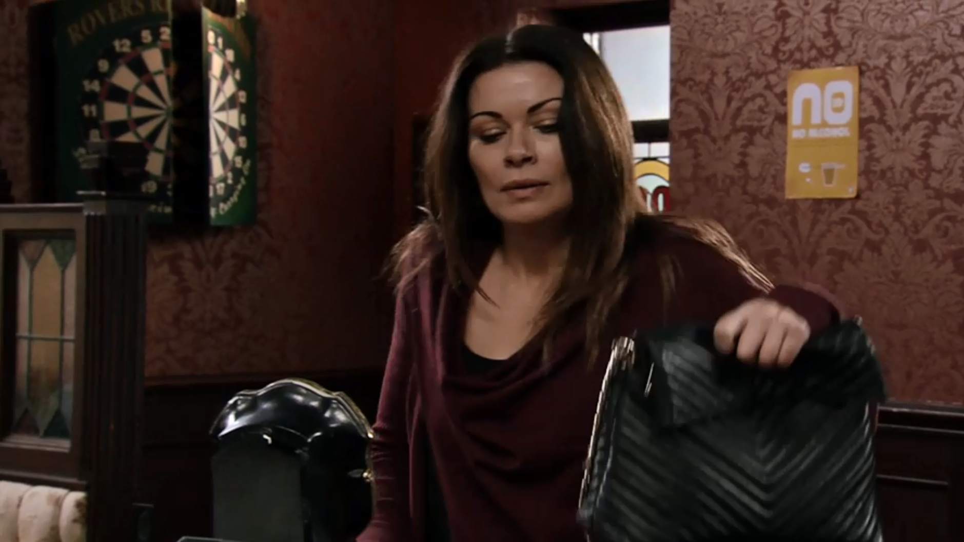 Coronation Street's Carla Connor's dying secret exposed as she collapses during row with ex Peter Barlow