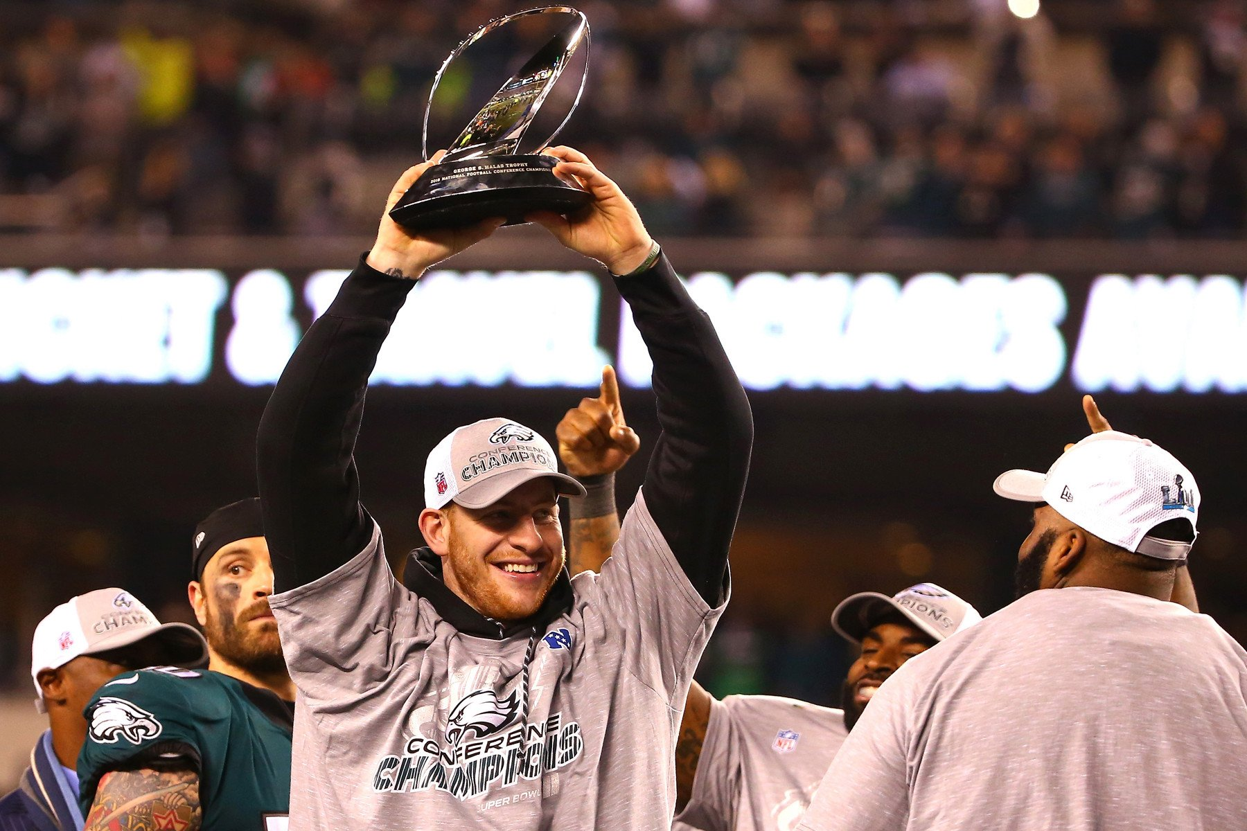 Carson Wentz has one word to describe watching Eagles' run
