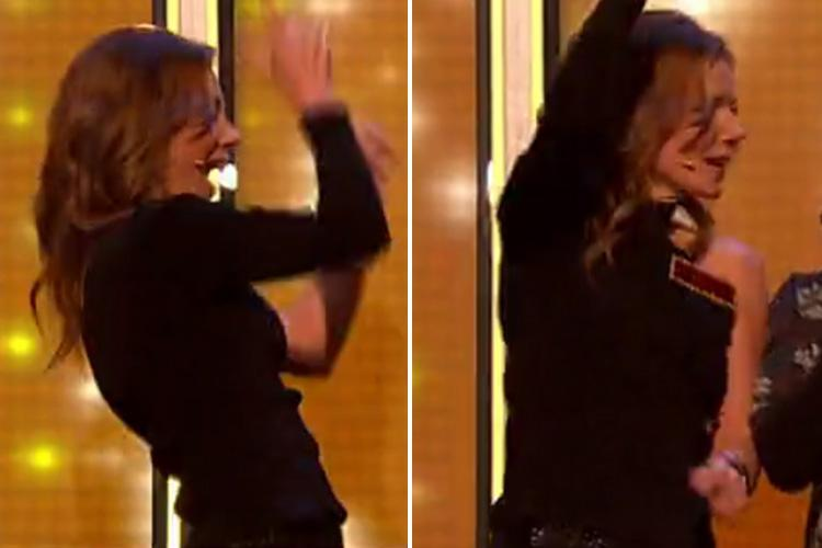 Geri Horner shows off her dance moves amid reports she's 'battling for control' of Spice Girls with Victoria Beckham