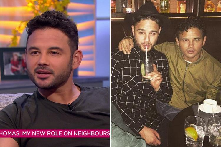 Ryan Thomas reveals his brother Adam was offered his role in Neighbours first
