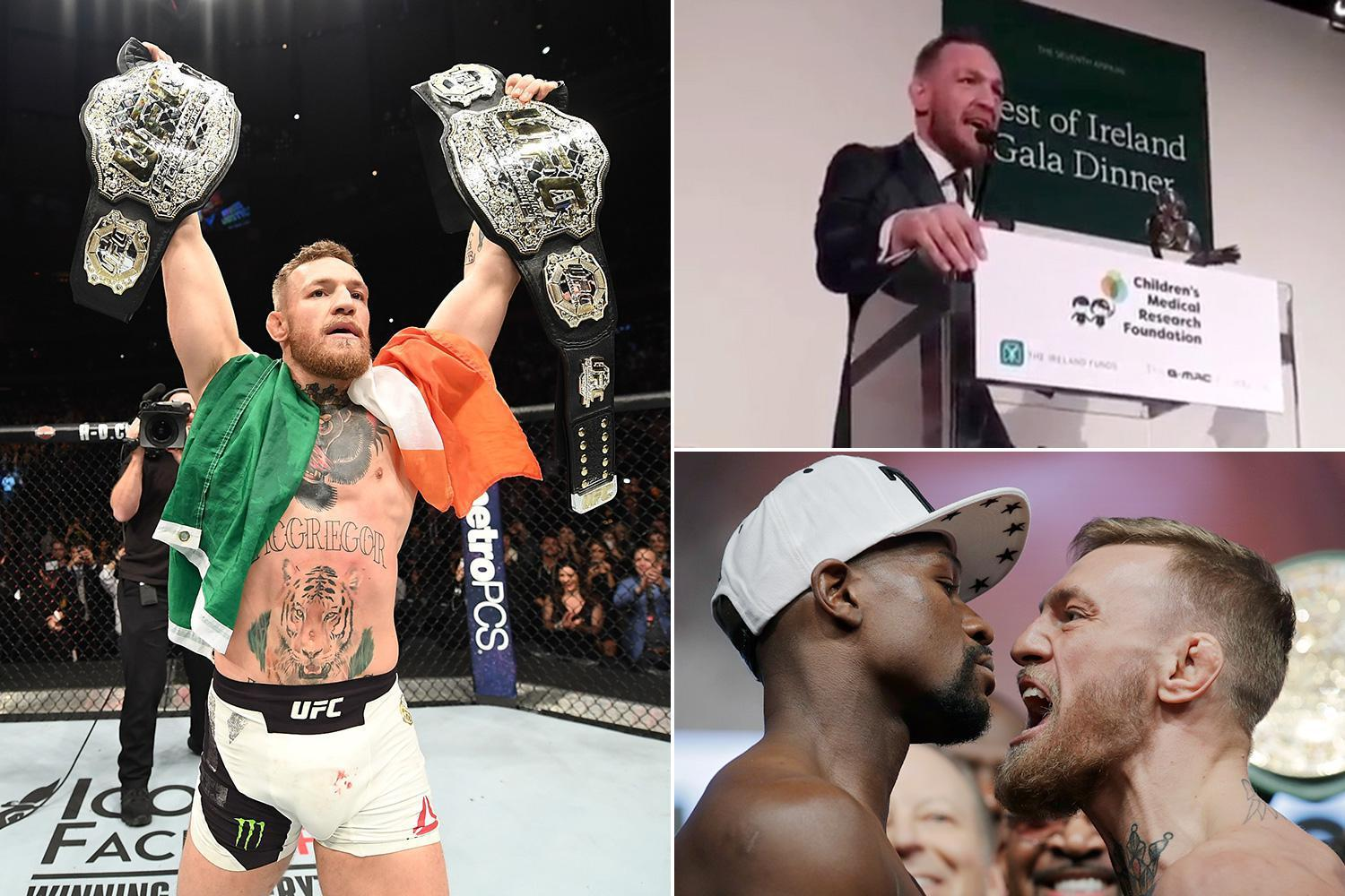 Conor McGregor ready to make return to UFC and admits he wants to step into the Octagon with Floyd Mayweather