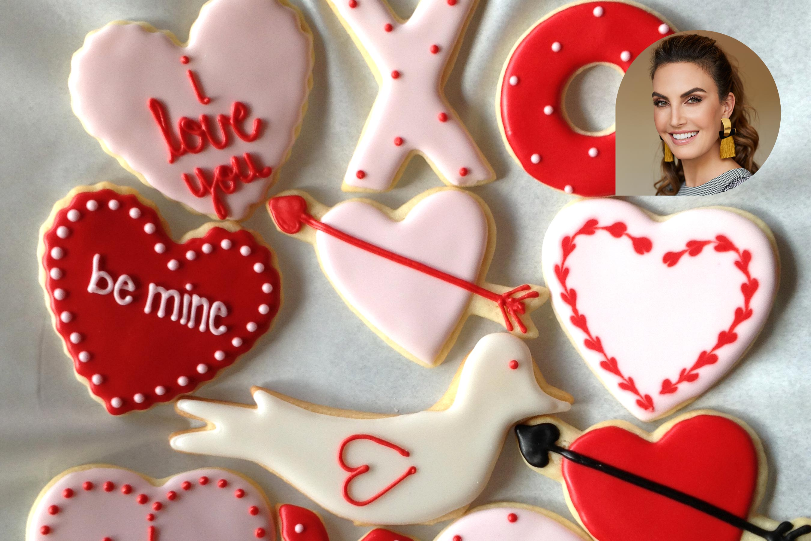 Valentine's Day cookie recipe by Elizabeth Chambers Hammer
