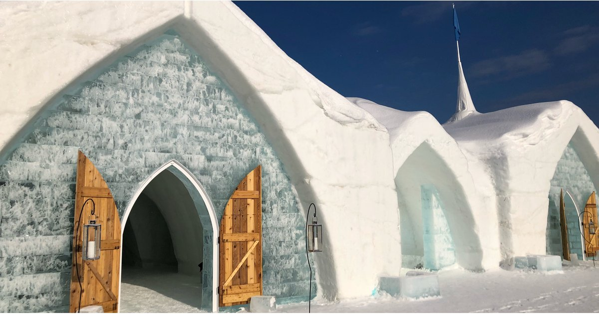 I Slept in an Ice Hotel and Was NOT Prepared — Here's What It Was Really Like