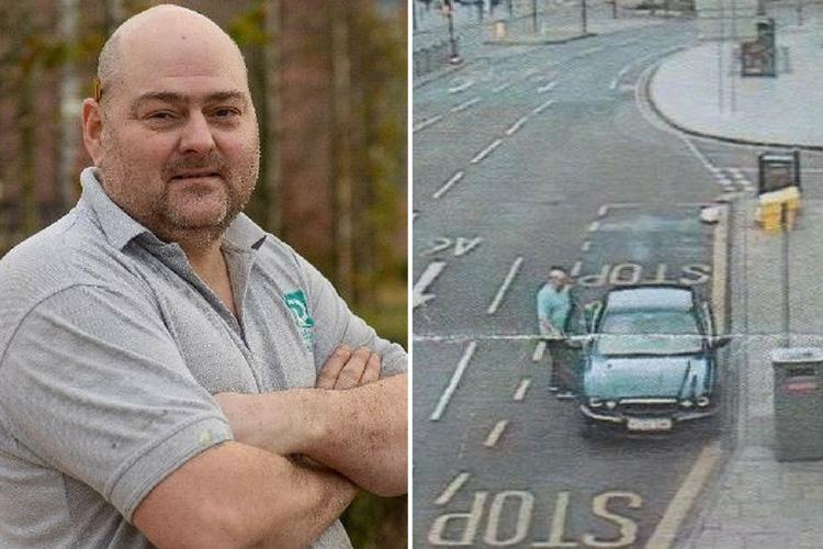 Veteran who parked in bus lane to drop off clothes to homeless man on Xmas Day is FINED £70