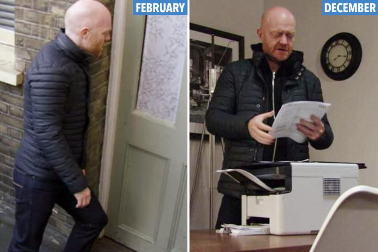 EastEnders fans spot Max Branning is STILL wearing the same manky coat and jeans he's been in since Christmas