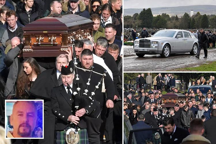 Hundreds turn out to bid final farewell to traveller dad-of-five scrap dealer who died suddenly
