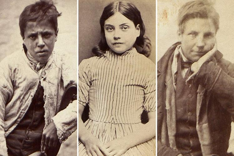 Haunting mugshots of Victorian child criminals – including girl aged SEVEN jailed for stealing a pram